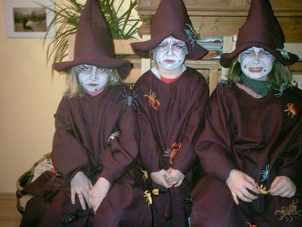 die mittlere Hexe gehört zu mir