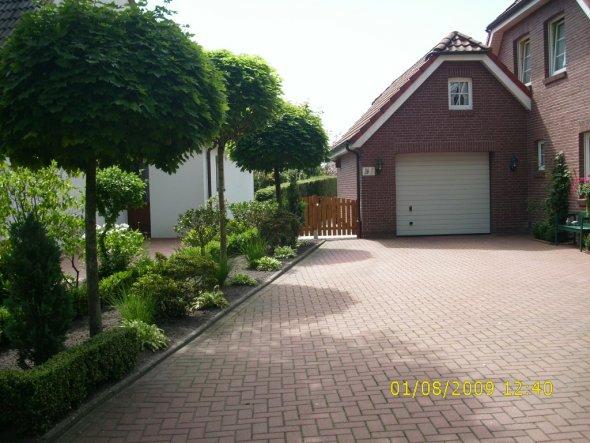 Hausfassade / Außenansichten 'Vorgarten'