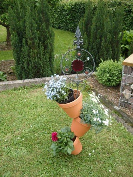tipp von sternchen62 tontopf bepflanzen zimmerschau. Black Bedroom Furniture Sets. Home Design Ideas