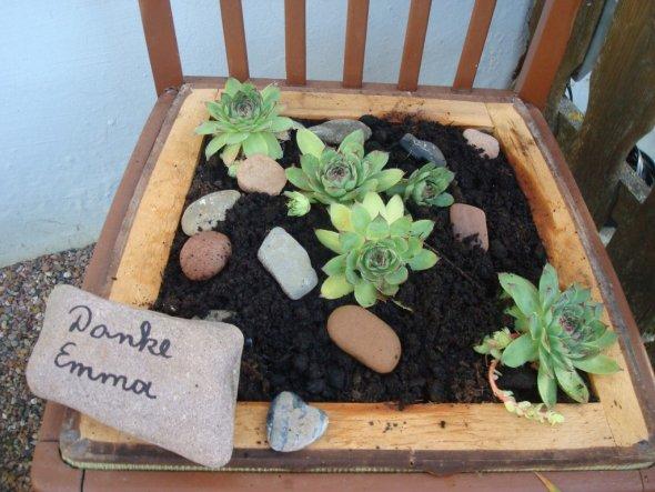 Garten 'Willkommen in unserem Garten'