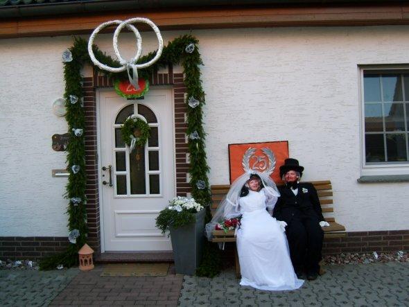 Deko 'Hochzeitspuppen'