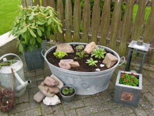 Garten 'Zinkwanne  freu...'