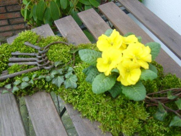 Garten 'Konnte es nicht mehr abwarten, war schon im Garten.'
