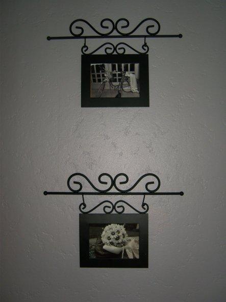 Auf den Bilder ist die Hochzeitsdeco meiner Tochter.  hell grau,