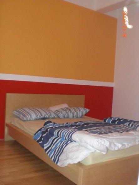 Schlafzimmer 'Liebesnest In Rot/Orange' - Unser Gemeinsames Reich