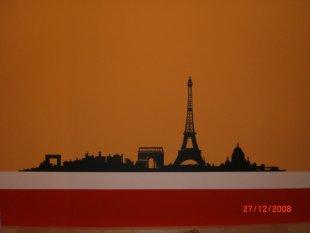 Liebesnest in Rot/Orange