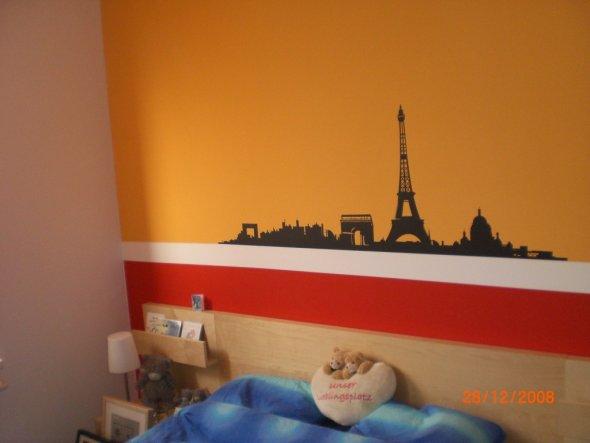 schlafzimmer 'liebesnest in rot/orange' - unser gemeinsames reich ... - Schlafzimmer Rot Orange