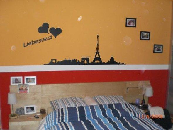 Schlafzimmer \'Liebesnest in Rot/Orange\' - Unser gemeinsames REICH ...