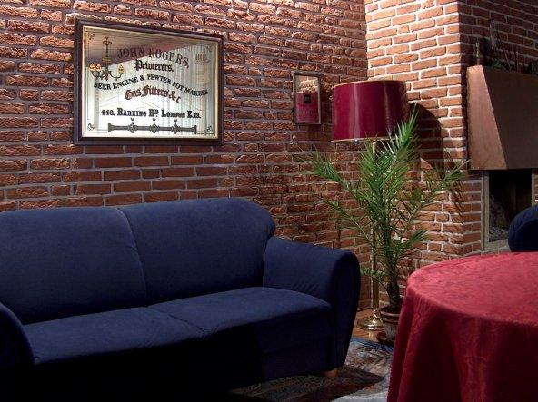 Wohnzimmer 39 wohnzimmer 39 unser hausi zimmerschau - Backsteinwand wohnzimmer ...