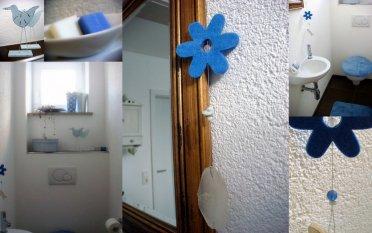 Stilmix 'kleine Gästetoilette'