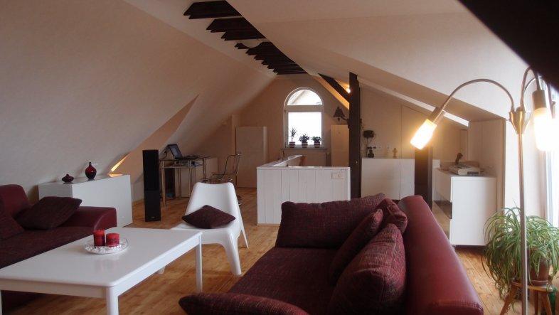 Wohnzimmer 'Dachzimmer'