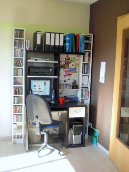 Unsere Computerecke Im Wohnzimmer