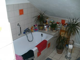Badezimmer-Vorher-Hinterher