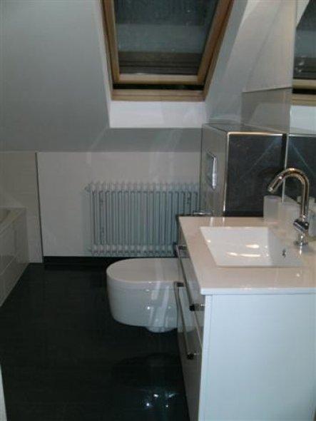 Bad 'Badezimmer-Vorher-Hinterher'