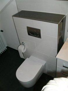 Badezimmer-Vorher-Hinterh er