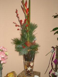 Weihnachtsdeko/floristik