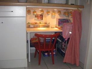 Tipp & Trick 'Eingebauten Büro für die Kleinen in der Küche'