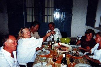 Feiern im Elternhaus
