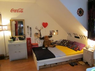 Retro 'Jugendzimmer Mädchen '