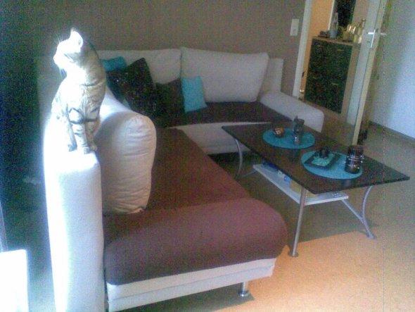 wohnzimmer 39 mein wz in braun t rkis 39 mein reich zimmerschau. Black Bedroom Furniture Sets. Home Design Ideas