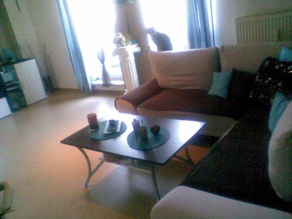 Wohnzimmer 'Mein Wz in Braun-Türkis'