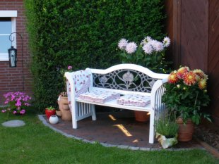 Garten Ecke
