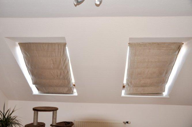 tipp von westerngirl easy rollo f r velux fenster zimmerschau. Black Bedroom Furniture Sets. Home Design Ideas