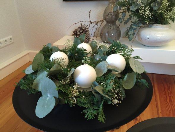 Weihnachtsdeko 'Weihnachten 2015'