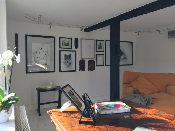 arbeitszimmer b ro 39 unser kleines b ro 39 mein domizil zimmerschau. Black Bedroom Furniture Sets. Home Design Ideas