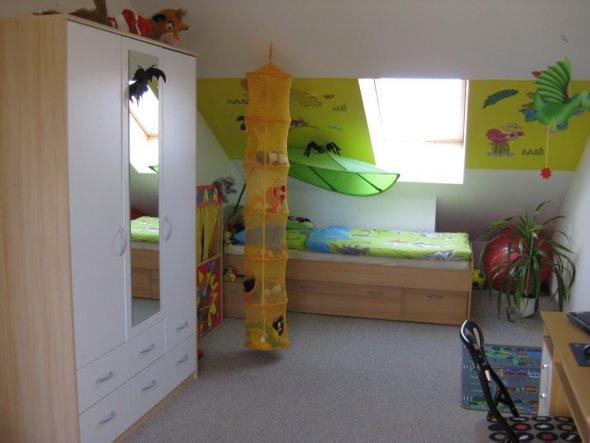 Kinderzimmer Dschungelzimmer  Reihenhäuschen für uns