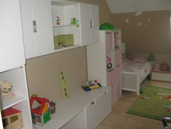 kinderzimmer 39 kleines m dchen 39 mein domizil zimmerschau. Black Bedroom Furniture Sets. Home Design Ideas