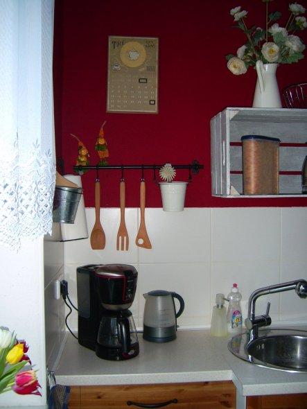 """das ist der wichtigste """"Arbeitsplatz"""" in der Küche, denn ein Käffchen geht immer."""