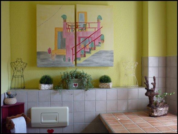 Wohnzimmer 'Gäste WC'