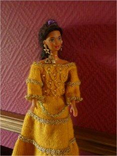 Meine Barbiekreationen genäht