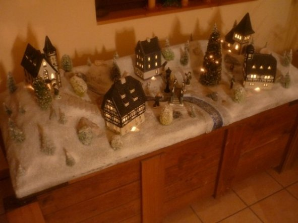 Weihnachtsdeko eingang herzlich willkommen von christrose for Folie zum bekleben von holz