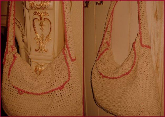 Jetzt habe ich auch noch eine Tasche versucht:-))) Knöpfe fehlen noch....  Was mache ich als nächstes????:-))))