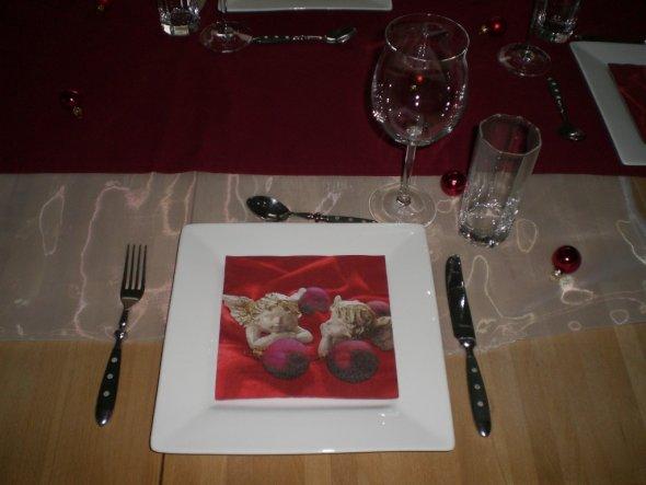 Weihnachtsdeko 'Essen-Tafel´08'