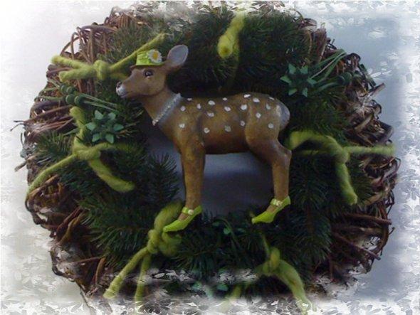 Weihnachtsdeko 'Es weihnachtet sehr 2010'