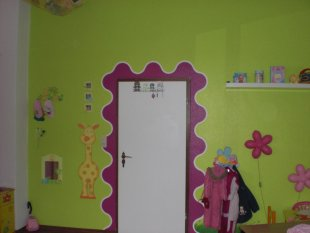 Stacy Alicia Chayenne`s rosa Suite mit Hello Kitty