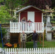 Sommerprojekt Stelzenhaus