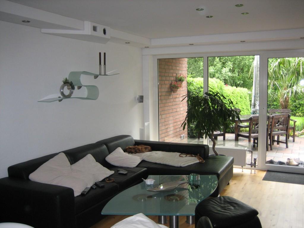 Wohnzimmer 39 der wohnbereich 39 blackladys home zimmerschau - Beamer wohnzimmer ...
