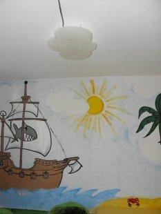 Kinderzimmer 39 piratenspielzimmer 39 meintraumhaus - Piratenzimmer deko ...