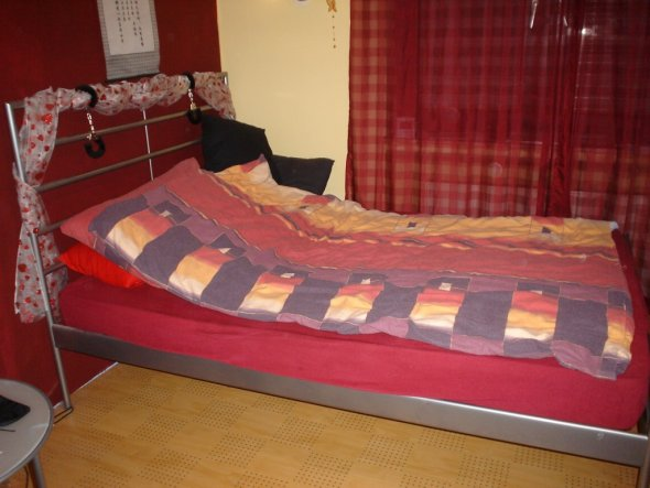 schlafzimmer 39 mein kleines zimmer 39 mein domizil zimmerschau. Black Bedroom Furniture Sets. Home Design Ideas