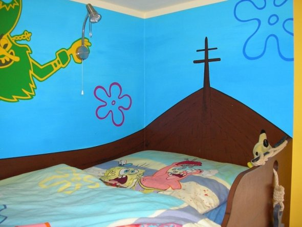 Kinderzimmer 'Spongebobs World'