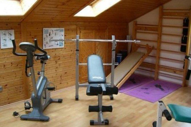 Hobbyraum 'Fitness Bereich'