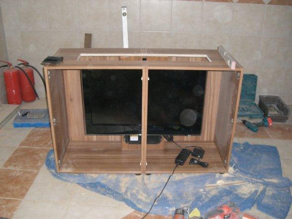 Tipp von hofiprofi Versenkbarer Fernseher im Eigenbau  Zimmerschau
