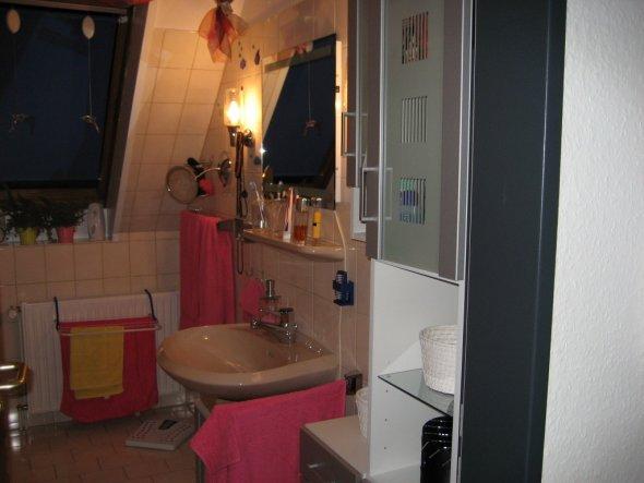 bad 39 mein badezimmer 39 meine erste eigene wohnung zimmerschau. Black Bedroom Furniture Sets. Home Design Ideas