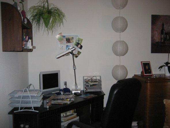 esszimmer 39 mein esszimmer b ro 39 meine erste eigene wohnung zimmerschau. Black Bedroom Furniture Sets. Home Design Ideas