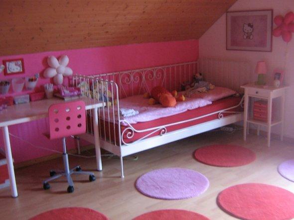 das Zimmer meiner 5.jährigen Tochter