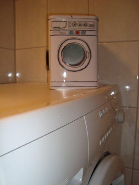 ist das nicht mal eine tolle Dose für`s Waschpulver?